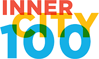 Logo Recognizing Scott Vicnair Law's affiliation with Inner City 100